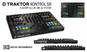 TRAKTOR KONTROL S8 – SISTEMUL  COMPLET SI DE REFERINTA AL DJ-ILOR