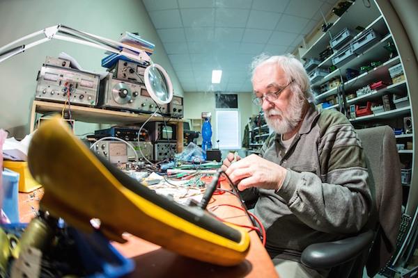 George Krampera, geniul din spatele KV2 Audio