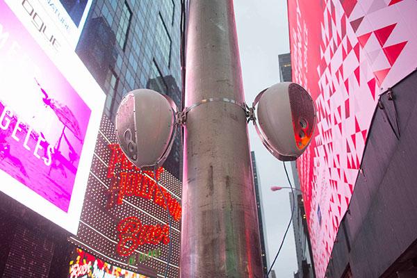 Deva a asigurat sonorizarea pentru festivitatea de Anul Nou din Times Square