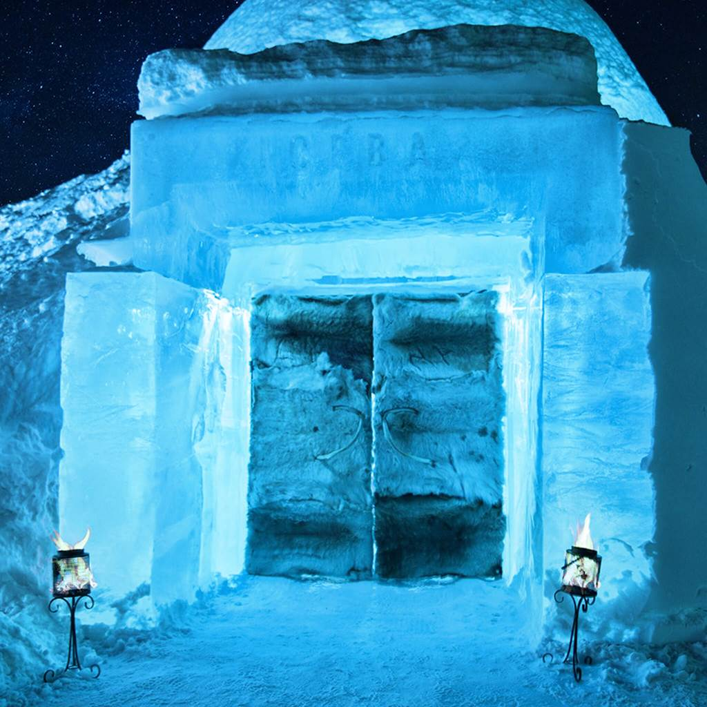 Primul hotel de gheață din lume deschis permanent foloseste sisteme de sonorizare Audac