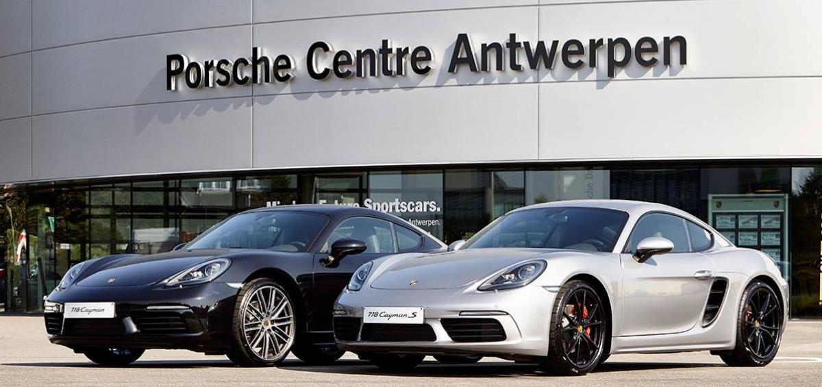 Audac, solutia de sonorizare aleasa pentru centrul Porsche din Anvers