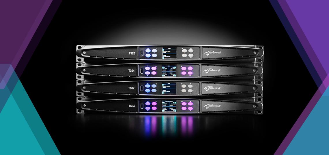 Un nou punct de referință al performanței audio: Powersoft lansează amplificatoarele seria T