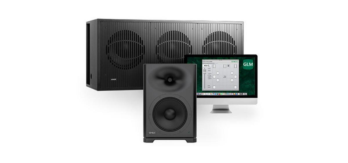 Putere si claritate pentru spatii mari cu un sistem compact - monitoare audio Genelec S360 + subwoofer 7382 SAM