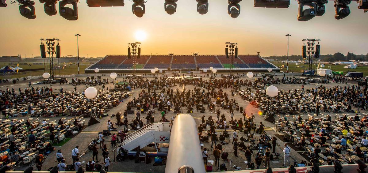 Concertul celei mai mari trupe de rock din lume, sonorizata cu amplificatoarele Powersoft
