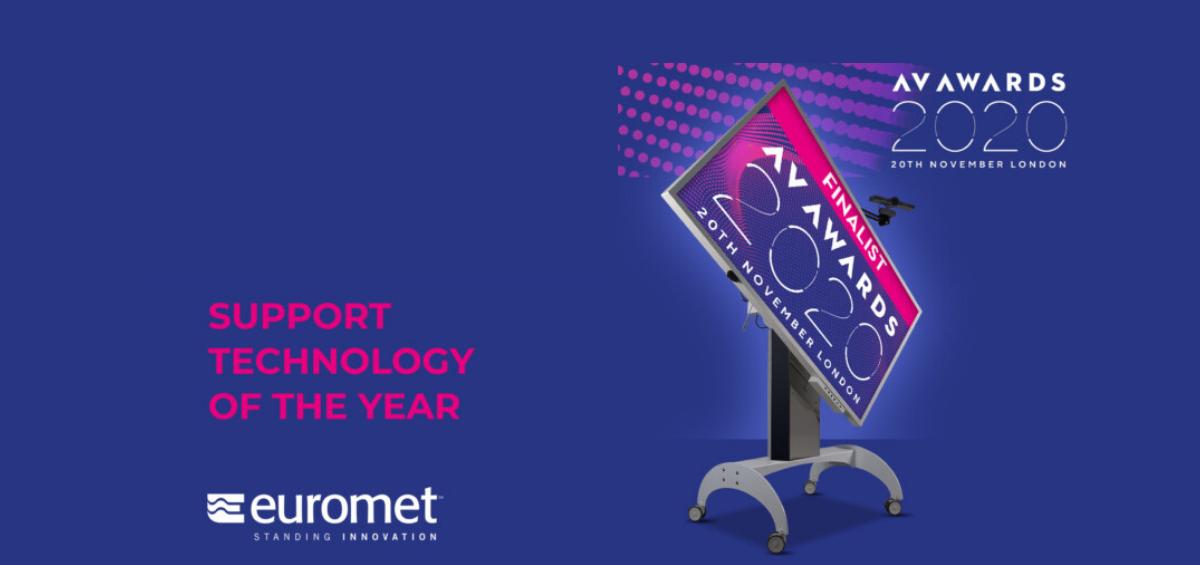 Euromet - finalist la AV Awards 2020