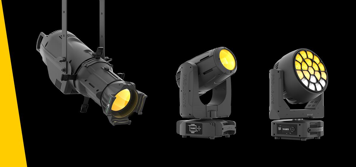 Prolights, lumini și echipamente video profesionale pentru industria media și divertisment