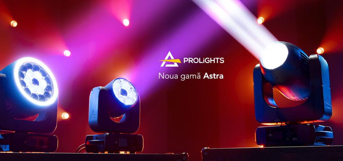 Noua gama Prolights Astra: design nou, fiabilitate de neegalat