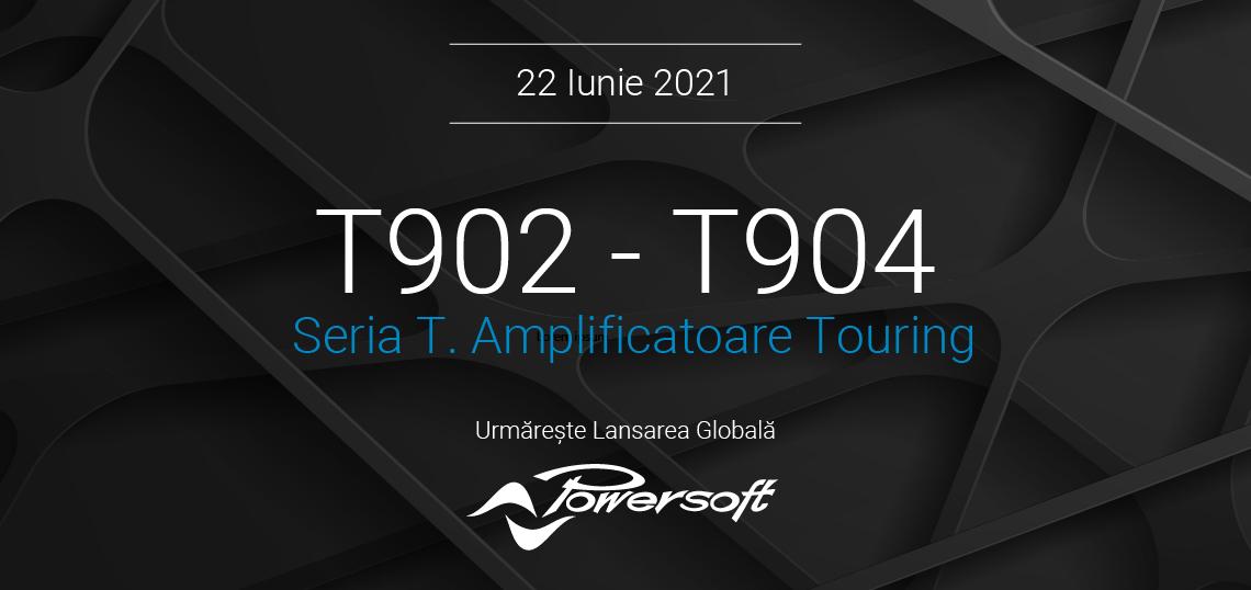 Powersoft dezvolta gama de amplificatoare de touring Seria T