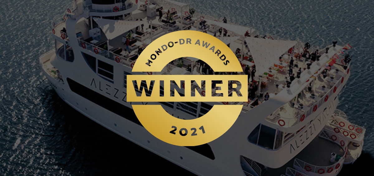 AudioVision castiga competitia MONDO-DR Awards cu proiectul Alezzi Yacht