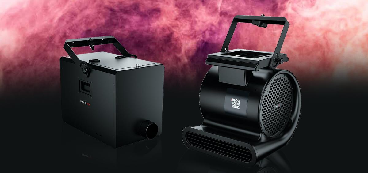 Noile echipamente MAGICFX FX-BLOWER si CLUBBLOWER duc petrecerile la un alt nivel