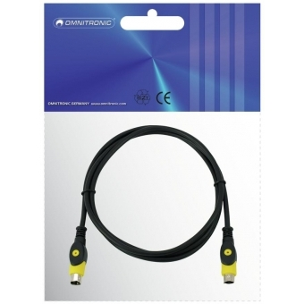 OMNITRONIC S-Video cable 1.5m #2