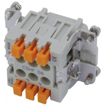 ILME Squich socket insert 6-pole 16A 500V #2