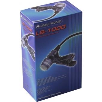 OMNITRONIC LS-1000 XLR Lavalier Mic #4