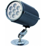 EUROLITE LED IP Wall spotlight 6400K 7x1W