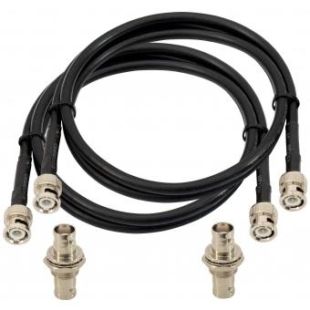 OMNITRONIC Antenna Cable BNC Set 5 m