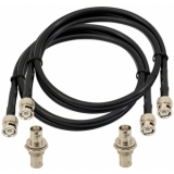 OMNITRONIC Antenna Cable BNC Set 5 m