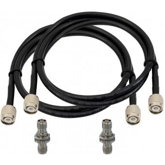 OMNITRONIC Antenna Cable TNC Set 5 m