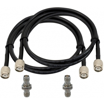 OMNITRONIC Antenna-Cable TNC Set 10 m