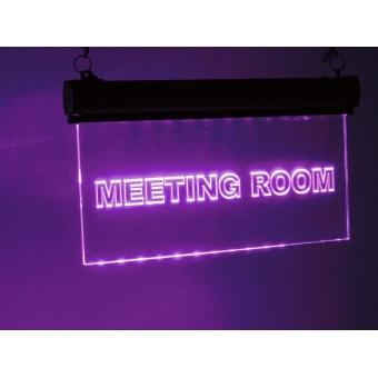 EUROLITE LED sign Meetingroom, RGB #2