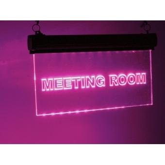 EUROLITE LED sign Meetingroom, RGB #3