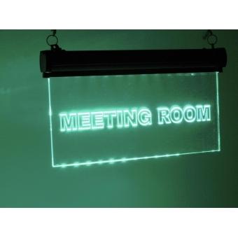 EUROLITE LED sign Meetingroom, RGB #5