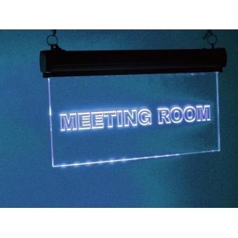 EUROLITE LED sign Meetingroom, RGB #6