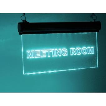 EUROLITE LED sign Meetingroom, RGB #7