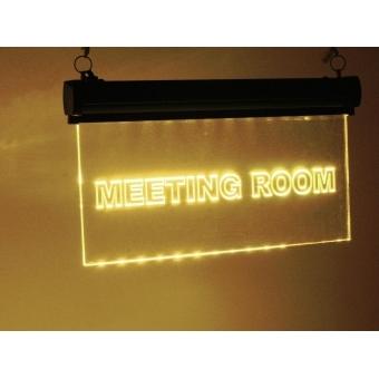 EUROLITE LED sign Meetingroom, RGB #8