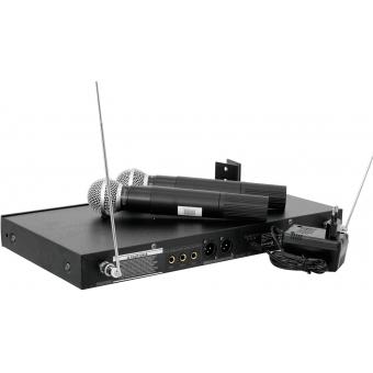 OMNITRONIC VHF-450 Wireless Mic System #5