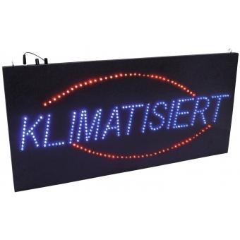 EUROLITE LED Sign KLIMATISIERT