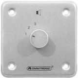 OMNITRONIC PA Stereo Program Selector sil