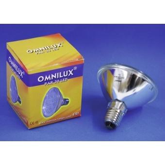 OMNILUX PAR-30 240V E-27 18 LED 5mm yellow #3