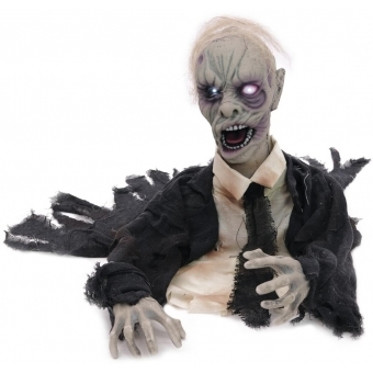 EUROPALMS Halloween Zombie, animated 43cm