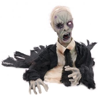 EUROPALMS Halloween Zombie, animated 43cm #2