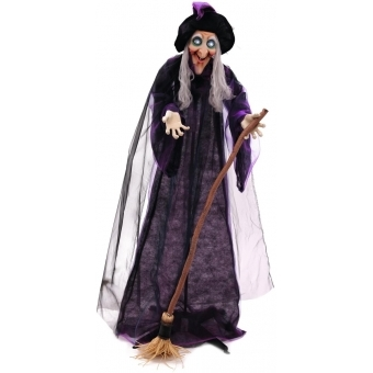EUROPALMS Halloween witch, animated #2