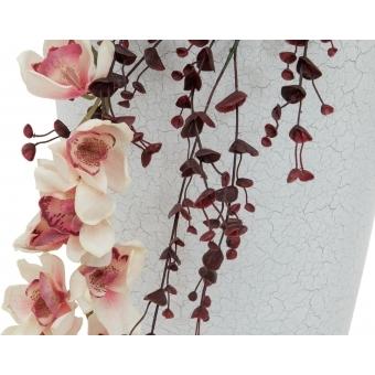 EUROPALMS Cymbidium spray, white-pink, 90cm #4