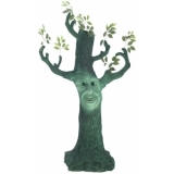 EUROPALMS Halloween ghost tree 170cm
