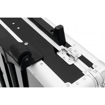 ROADINGER CD Case, black, 200 CDs, with Trolley #6