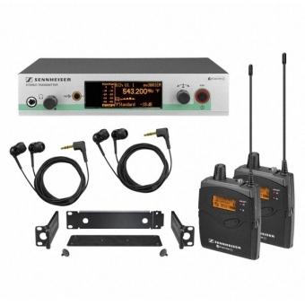 Sistem Wireless SENNHEISER EW 300-2 IEM G3
