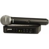 Sistem Wireless SHURE - Microfon BLX24E/PG58