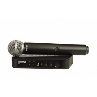 Sistem Wireless SHURE - Microfon Vocal BLX24/SM58