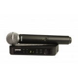 Sistem Wireless SHURE - Microfon Vocal BLX24/SM58