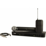Sistem Wireless Combo SHURE - Bodypack+Microphone+Guitar Cable BLX1288/SM58/WA302