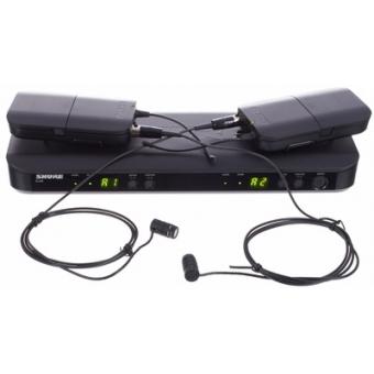 Sistem Wireless Dual Presenter - Lavaliere BLX188/WL185