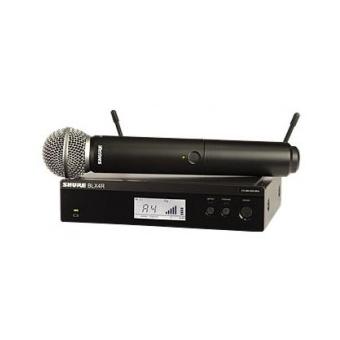 Sistem Wireless Rack-Mount SHURE - Microfon Vocal BLX24R/SM58