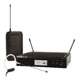 Sistem Wireless Rack-Mount Presenter SHURE - Earset BLX14R/MX53