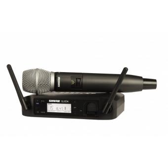 Sistem Wireless SHURE - Microfon Vocal GLXD24/SM86