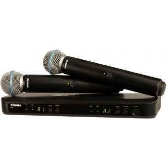 Sistem Wireless SHURE - Dual - Microfoane Vocale