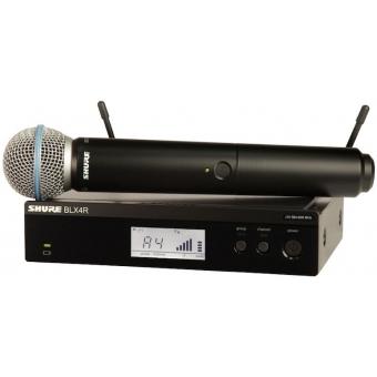 Sistem Wireless SHURE (Rack-Mount) - Microfon Vocal BLX24R/B58A