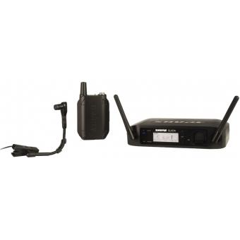 Sistem Wireless SHURE - Instrument GLXD14/B98H/Clip-On